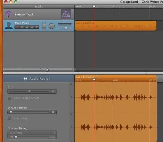 Import QuickTime Audio
