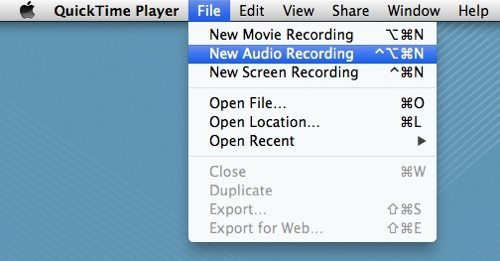 New QuickTime Audio