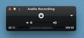 Quicktime Recording