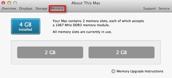 Detailed Memory Info