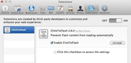 Safari Extensions