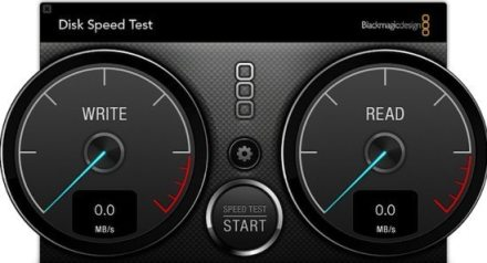 Blackmagic Speed Test Graphic