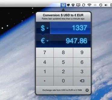 Currencies Screenshot