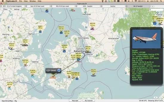 Flightradar24 Screenshot