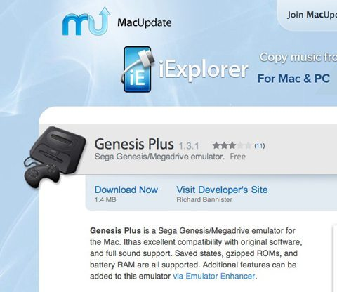 How To Play Sega Genesis Games On Your Mac - ChrisWrites com