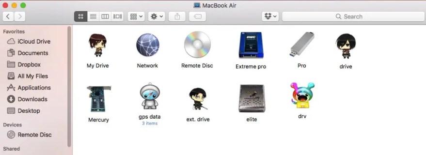 Customise any Mac folder, file or hard drive icon - ChrisWrites com