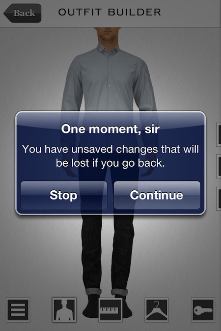Suit Yourself - The Men's Outfit Creator for iPhone - ChrisWrites com