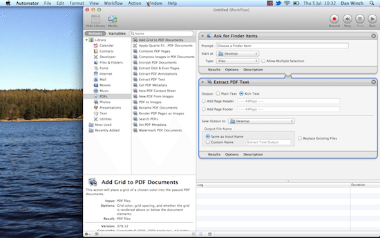 how to turn word document to pdf on mac