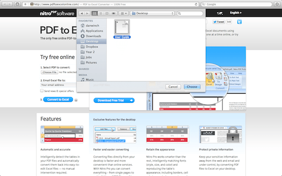 How to Convert PDF to Excel files on the Mac - ChrisWrites com