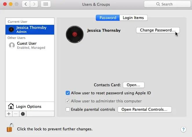 I've forgotten my Mac's password! What should I do