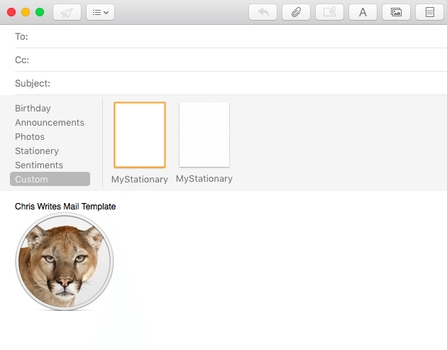 Create Custom HTML Email Signature Templates in macOS Mail ...