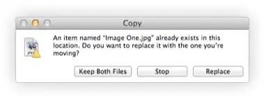 Copy Dialog box showing new 'Keep Both Files' option