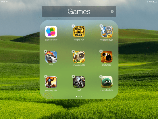 iOS 8 Upgrade - Delete Game