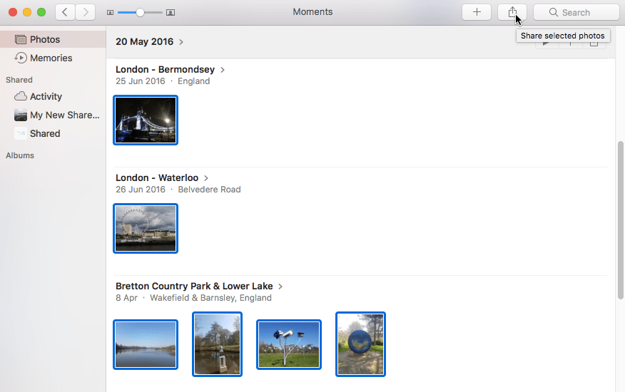 how to download photos from icloud shared album