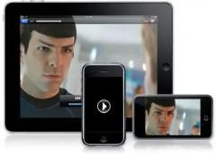 iphone, ipod, iPad playing films