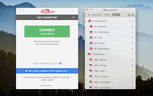 ExpressVPN has servers in 78 countries - allowing you to watch blocked content from anywhere.