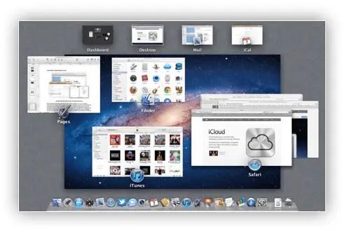 Mac OS X Mission Control