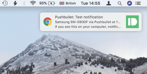 Sync your iPhone and Android Notifications to your Mac, with