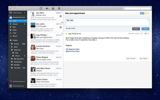 5 Great Alternatives to Mail on the Mac - ChrisWrites com