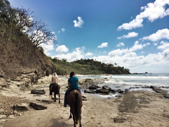 We went on a 3 hour guided horseback tour that spanned 3 beaches; a great way to see things we otherwise would have never seen.
