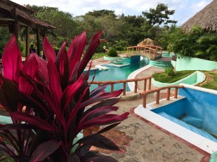 Casa Santosha; that pool was a godsend to cool off from Nicaragua's heat.