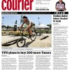 Vancouver Courier features me riding the pumptrack on the cover.