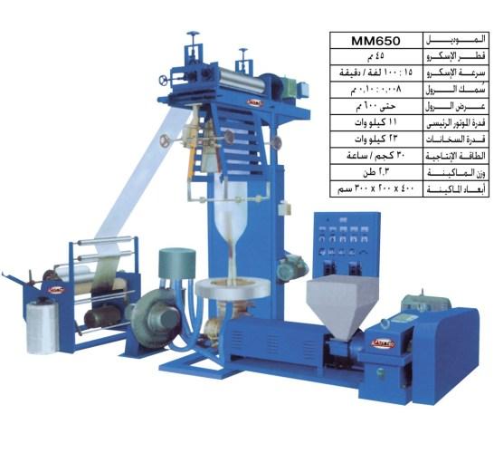 تصنيع-وتوريد-خط-تصنيع-فيلم-الأكياس-والشنط-البلاستيك