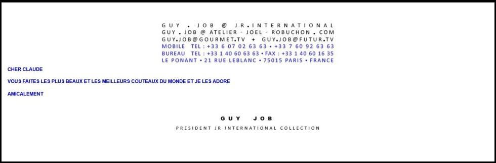 Guy Job sur Chroma France