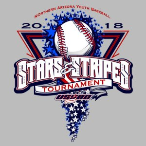 July 4th Baseball Design