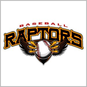 Raptors Baseball Shirt
