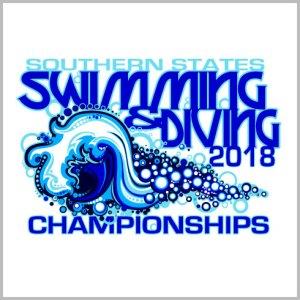Swimming Diving Shirt Design