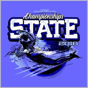 State Swimming Shirt