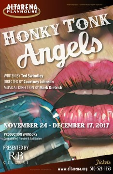 Honky Tonk Angels Poster - Altarena Playhouse