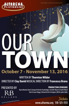 Our Town Poster - Altarena Playhouse