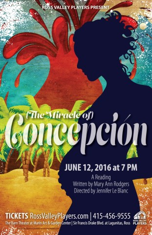 Concepcion Poster - Ross Valley Players