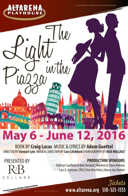 The Light in the Piazza Poster - Altarena Playhouse