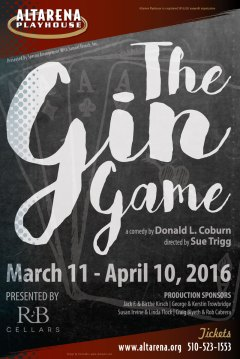 The Gin Game Poster - Altarena Playhouse