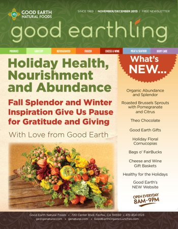 ChromaKit Graphic Design Good Earth Good Earthling Newsletter Cover