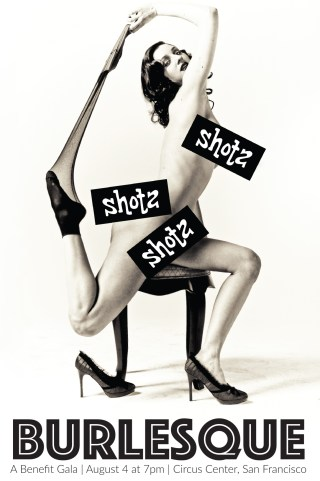 Shotz: Burlesque Fundraising Gala