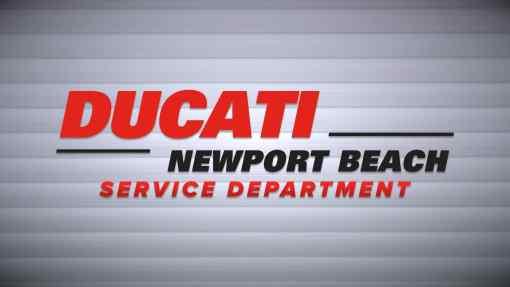 Ducati Newport Beach – Service Department