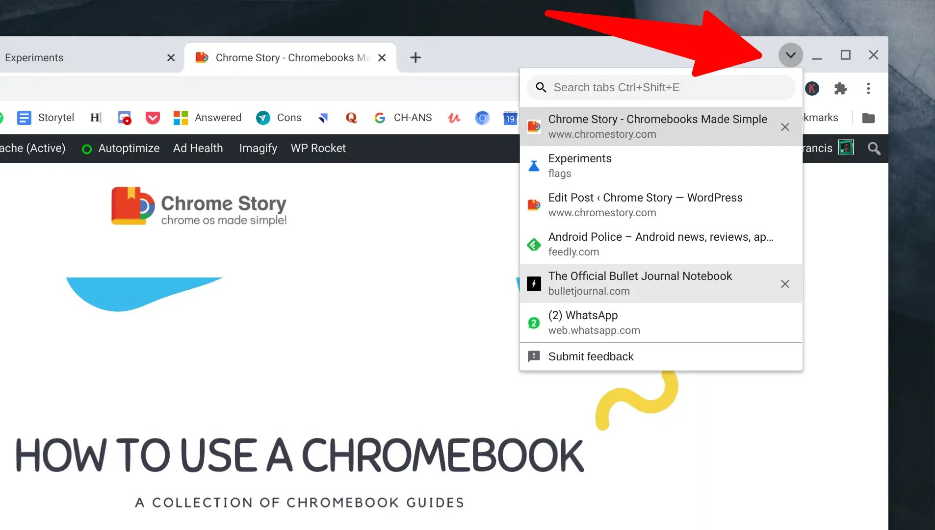 Tab Search is Coming to Chrome for Windows and macOS