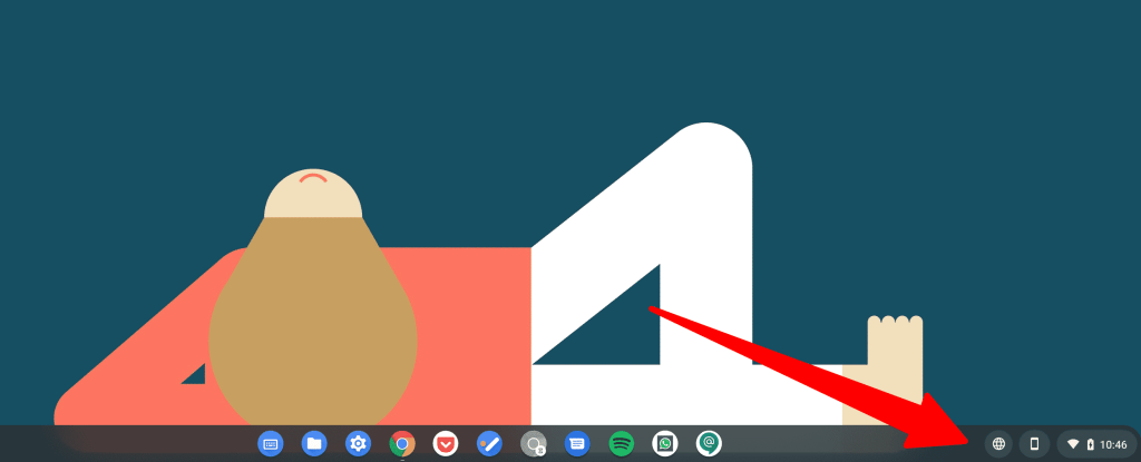 Bloom icon on Chromebook desktop