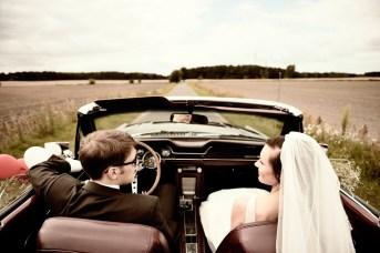 Mustang Brautwagen