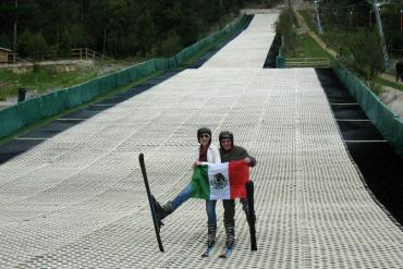 Skiing Mexico Coahuila