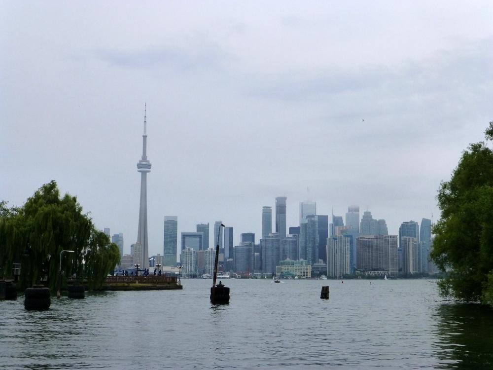 Toronto Island skyline