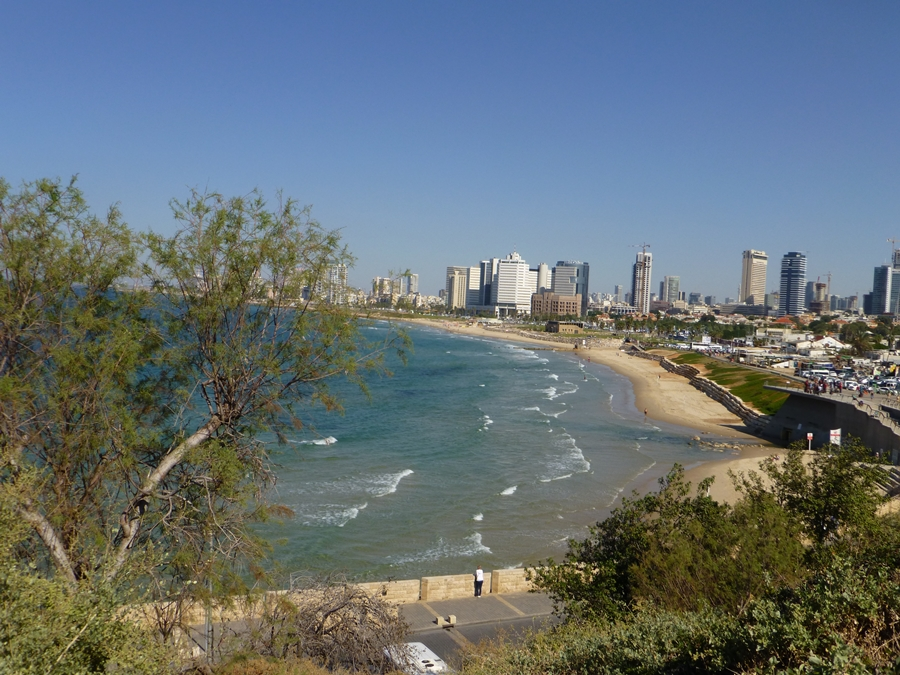 View Tel Aviv from Jaffa