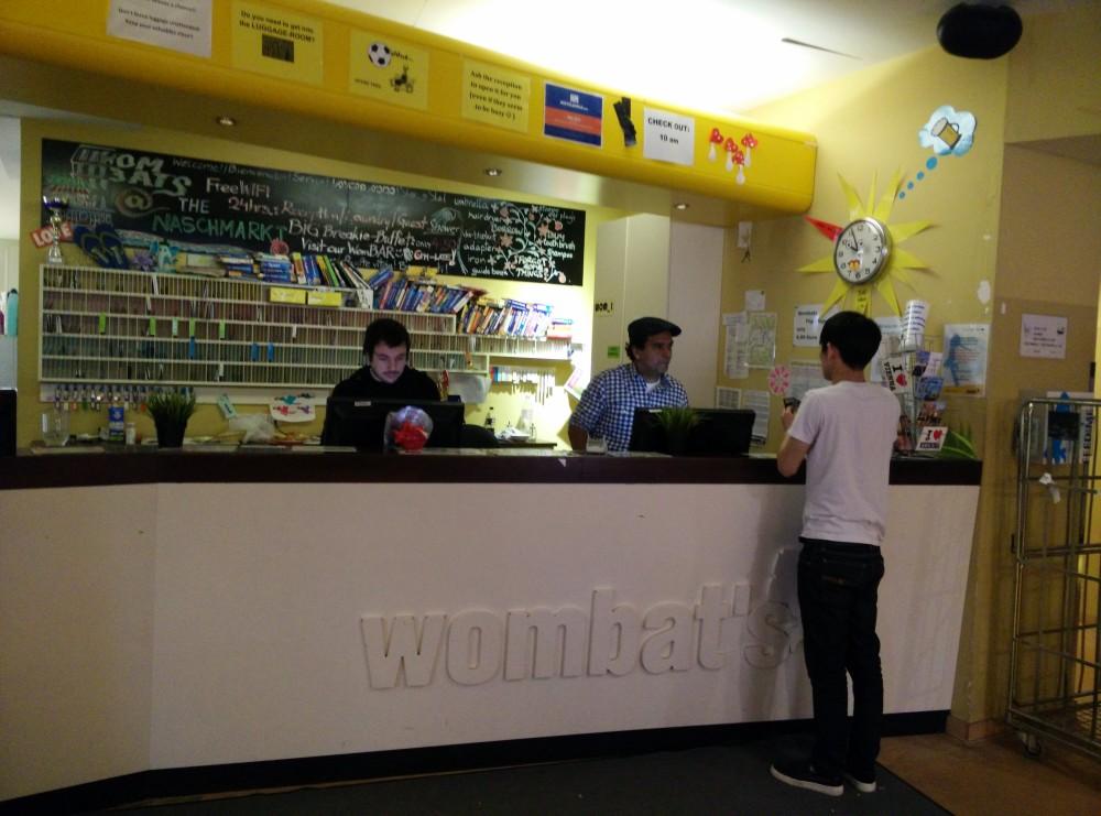 Hostel Wombats Naschmarkt Wien Vienna