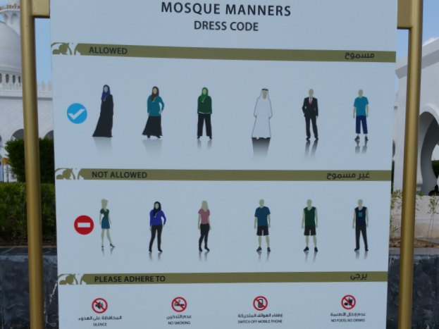 Dress code_Mosque
