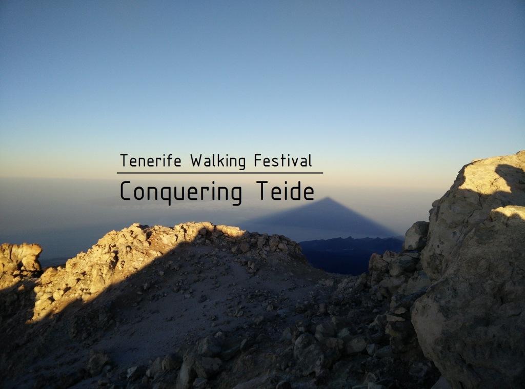 Conquering Teide Tenerife Walking Festivall