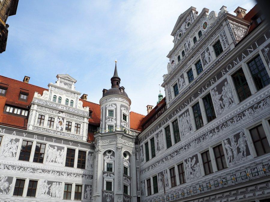 Residenzschloss Dresden Courtyard